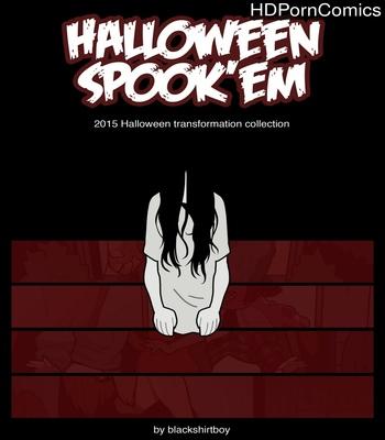 Porn Comics - Halloween Spook'Em