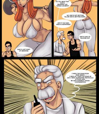 Hannah's Kind Of A Big Deal 4 comic porn sex 014