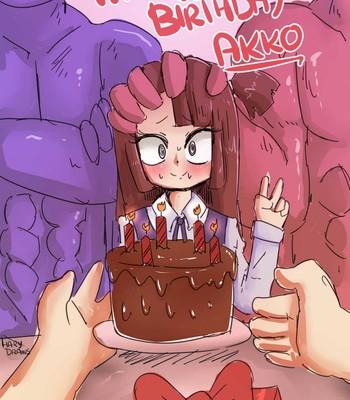 Porn Comics - Happy Birthday Akko