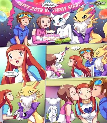 Happy Birthday Rika 1 comic porn sex 002
