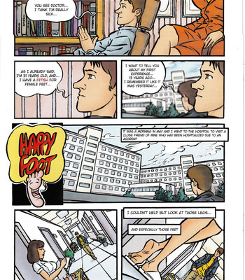 Porn Comics - Happy Foot
