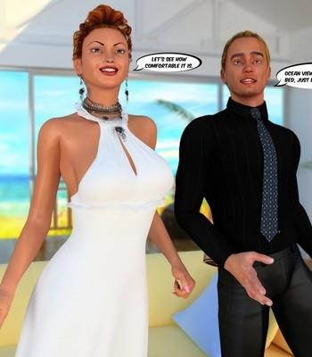 Hawaiian Honeymoon Cuckold comic porn sex 005