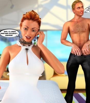 Hawaiian Honeymoon Cuckold comic porn sex 008