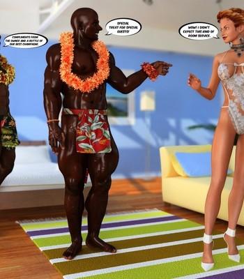 Hawaiian Honeymoon Cuckold comic porn sex 013
