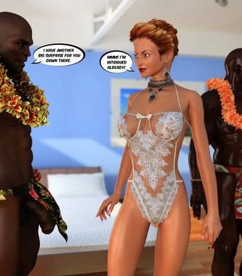 Hawaiian Honeymoon Cuckold comic porn sex 014