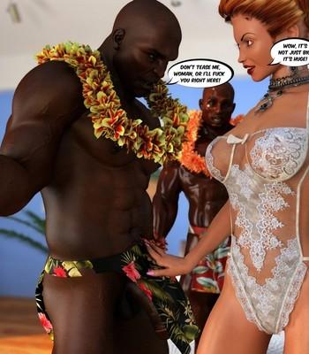 Hawaiian Honeymoon Cuckold comic porn sex 016