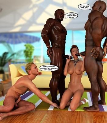 Hawaiian Honeymoon Cuckold comic porn sex 056