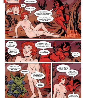 Porn Comics - Hell's Laughter