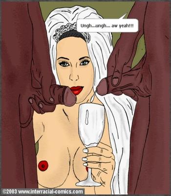 Her Wedding Day comic porn sex 024