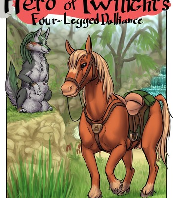 Porn Comics - Hero Of Twilight's Four-Legged Dalliance