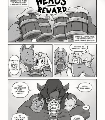 Porn Comics - Hero's Reward
