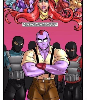 Hero Tales 4 - Kiss Of The Crimson Dahlia comic porn sex 025