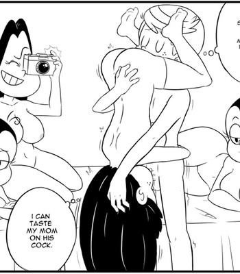 Honeymoon comic porn sex 006