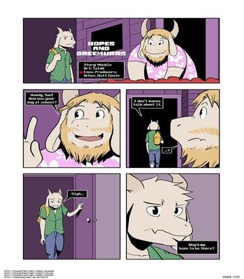 Hopes-And-Dreemurrs 2 free sex comic