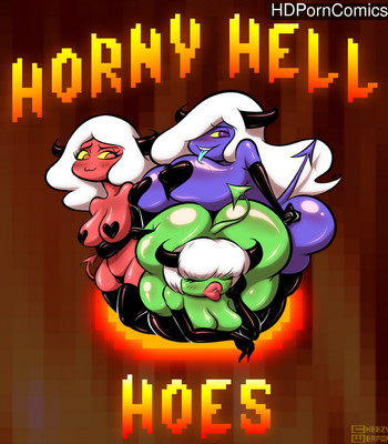 Horny Hell Hoes 1 comic porn thumbnail 001