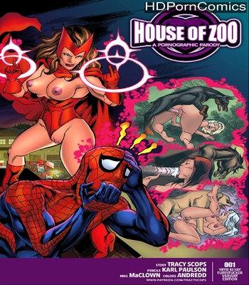 Porn Comics - House Of Zoo