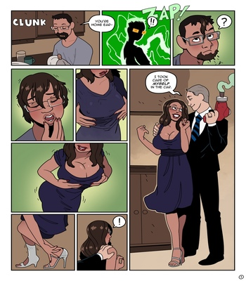 Housewife-Surprise 2 free sex comic