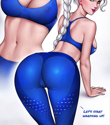 How To Train Your Ass With Elsa comic porn sex 003