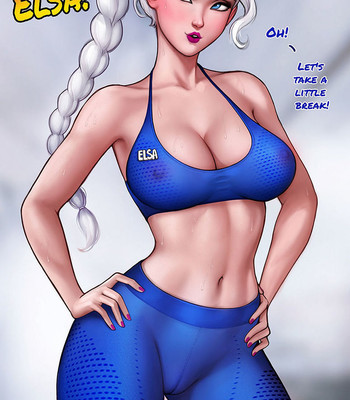 How To Train Your Ass With Elsa comic porn sex 009