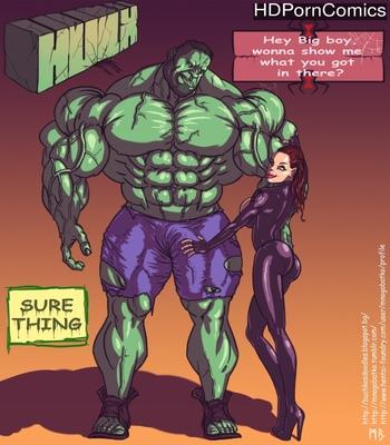 Porn Comics - Hulk VS Black Widow