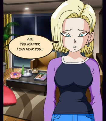 Hypno Phone Android 18 Chapter One comic porn sex 022
