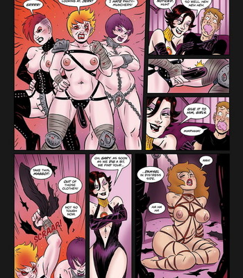 Hypnowitch - Bewitched And Unrestrained comic porn sex 004