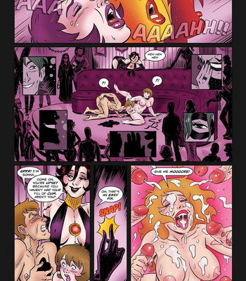 Hypnowitch - Bewitched And Unrestrained comic porn sex 007
