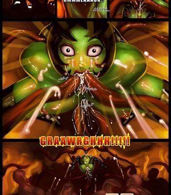 Ikra vs The Minions comic porn sex 006