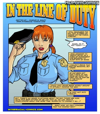 Porn Comics - In The Line Of Duty