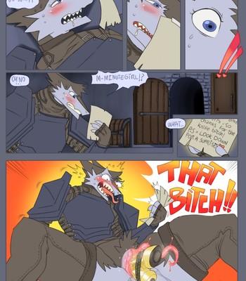 Interrogation comic porn