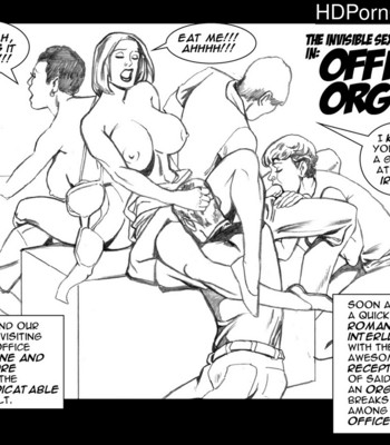 Porn Comics - Invisible Sex Maniac – Office Orgy