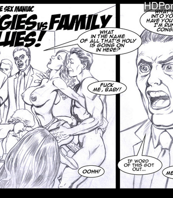 Porn Comics - Invisible Sex Maniac – Orgies Vs Family Values