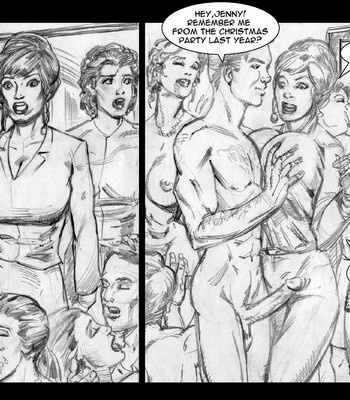 Invisible Sex Maniac - Orgies Vs Family Values comic porn sex 004