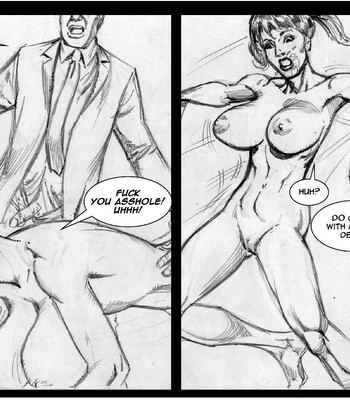 Invisible Sex Maniac - Orgies Vs Family Values comic porn sex 007