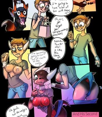Porn Comics - It's His Second Shift