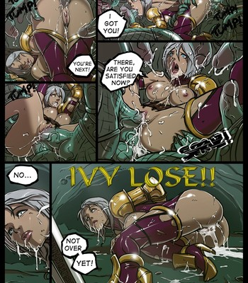Ivy VS Lizardmen comic porn sex 002
