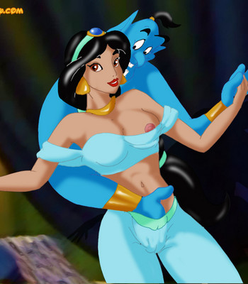 Jasmine And Genie comic porn sex 003