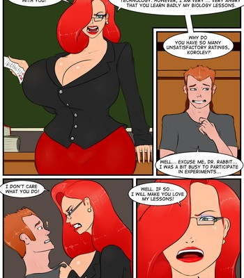 Jessica Rabbit - Additional Classes comic porn sex 002