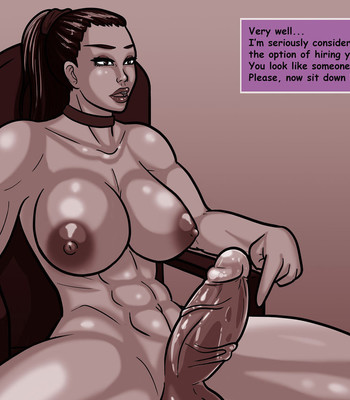 Job Interview comic porn sex 012