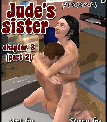 Porn Comics - Jude's Sister 3 Part 2 – Caught Masturbating