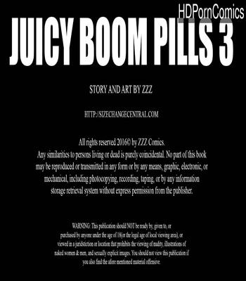 Porn Comics - Juicy Boom Pills 3