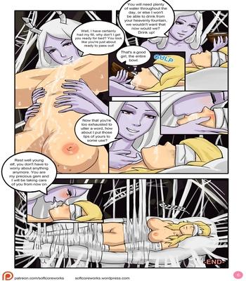 Jungle Of Pleasure Volume 1 – Caught By The Spider Queen comic porn sex 008
