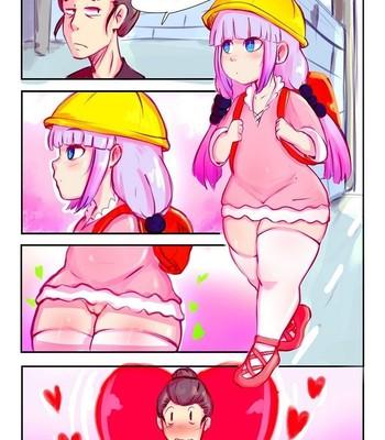Porn Comics - Parody: Kobayashi-San-Chi No Maid Dragon