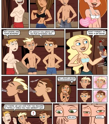 Kim Possible - Spin, Sip & Strip! comic porn sex 009