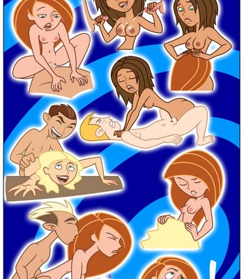 Kim Possible - Spin, Sip & Strip! comic porn sex 020