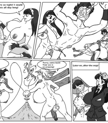 King Of Fighters Futanari comic porn sex 006