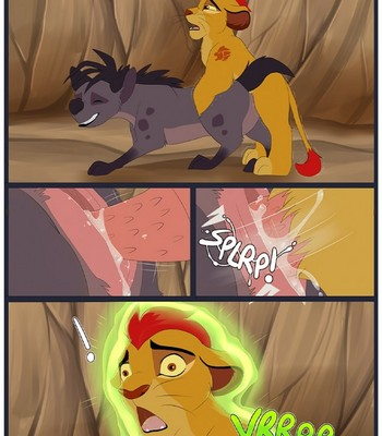 Kion X Shenzi Transformation comic porn sex 002