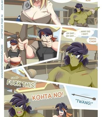 Kohta The Samurai 24 comic porn sex 048