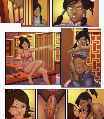 Korra x Jinora comic porn sex 001