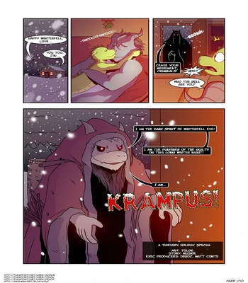 Krampus! A Thievery Holiday Special comic porn sex 002